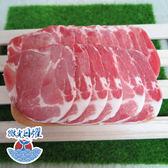 微光日燿 丹麥豬梅花燒烤片 500g±5%/盒