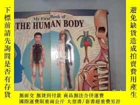 二手書博民逛書店My罕見First Book of THE HUMAN BODYY198833 John H R Brook