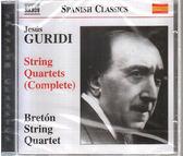 【正版全新CD清倉  4.5折】Jesus Guridi : Complete String Quartets 古里迪:弦樂四重奏全集