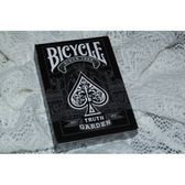 【USPCC撲克】Bicycle Garden 花園單車撲克牌 黑色