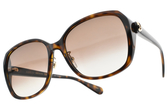 GUCCI太陽眼鏡 GG0371SK 002 (琥珀棕-漸層棕鏡片) 率性LOGO大框款 # 金橘眼鏡