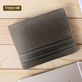 【TROOP】經典品格CLASSIC錢包/TRP0452DB(深棕色)