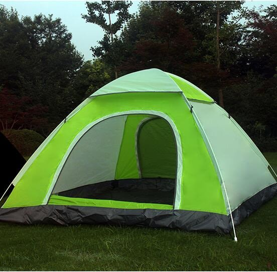 帳篷 帳篷戶外3-4人全自動防暴雨加厚雙人2單人防雨露營野營野外賬蓬【快速出貨八五折搶購】