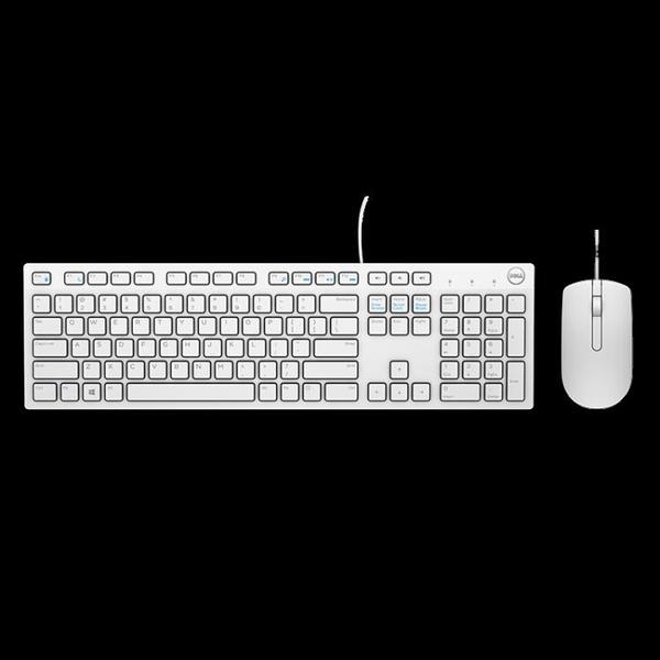 筆記本臺式機游戲USB家用辦公有線滑鼠鍵盤MS116原裝有線 - 風尚3C