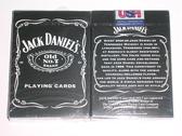 【USPCC 撲克】美國Jack 傑克丹尼爾 黑色商標撲克牌