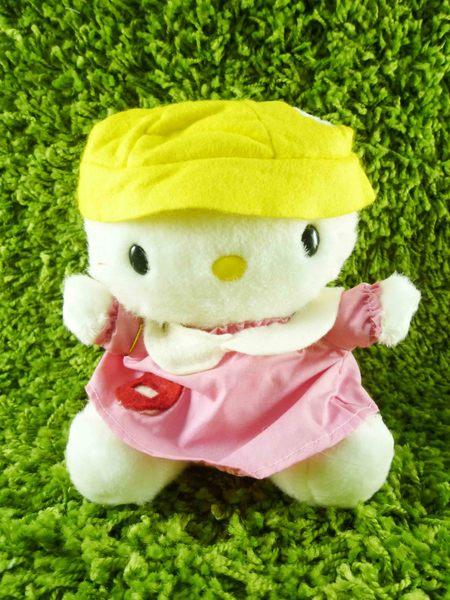 【震撼精品百貨】Hello Kitty 凱蒂貓~KITTY絨毛娃娃-上學造型