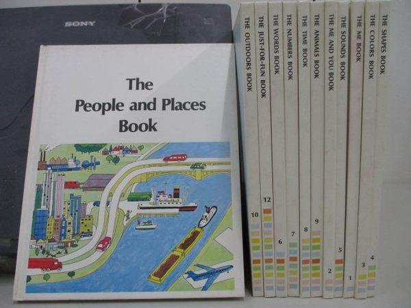 【書寶二手書T9/少年童書_RDW】The People and Places Book_The Me Book等_共1