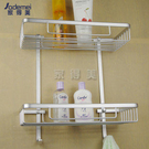 雙層四方置物架 浴室收納 太空鋁掛件 雙...