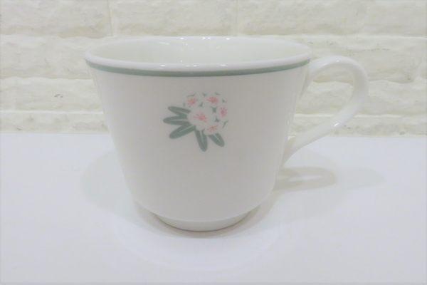 快速出貨 NARUMI 日本製 骨瓷 花卉圖案杯子 【Tifana】