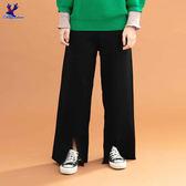【早秋新品】American Bluedeer - 捲邊針織寬褲(魅力價) 秋冬新款