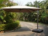 【南洋風休閒傢俱】傘座系列 - 3米方/圓吊傘(含LED燈)   戶外吊傘  遮陽傘  單邊傘  羅馬傘  695-3