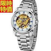 機械錶-獨一無二明星款奢華男腕錶4色5j132【巴黎精品】
