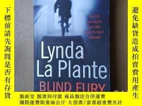 二手書博民逛書店lynda罕見la plante blind fury〔外文原版