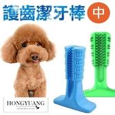 寵物潔牙利器 中號 護齒潔牙棒 寵物潔牙 磨牙 清潔牙齒 寵物玩具 寵物用品護齒 潔牙骨【Z90208】