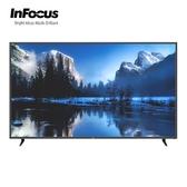 [InFocus 富可視]80吋 4K智慧連網液晶顯示器 WT-80CA600+TXPD02視訊盒【限時加贈基本安裝】