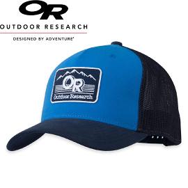 【Outdoor Research 美國 ADVOCATE TRUCKER CAP 舒適棒球帽〈藍色〉】243525/棒球帽/鴨舌帽/遮陽帽
