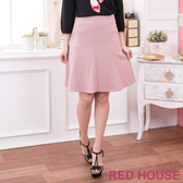 【RED HOUSE 蕾赫斯】三角剪裁及膝裙(共二色)