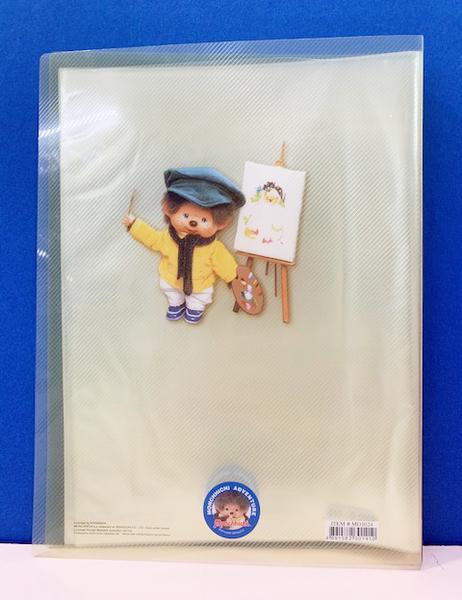 【震撼精品百貨】monchhichi_夢奇奇~文件夾A4~畫家#30141