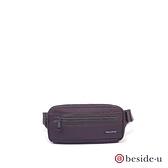 BESIDE-U BTO 防盜刷中性運動腰包胸包 - 深紫色 原廠公司貨