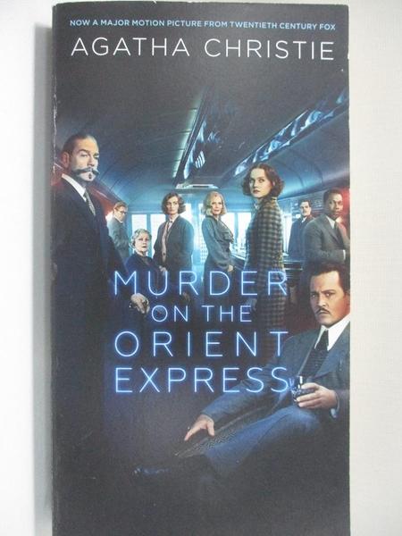 【書寶二手書T8/原文小說_H4P】Murder on the Orient Express_Christie, Agatha