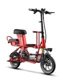 電動車 電動自行車男女迷你小型折疊鋰電池代步滑板車成人代駕電瓶車 莎瓦迪卡
