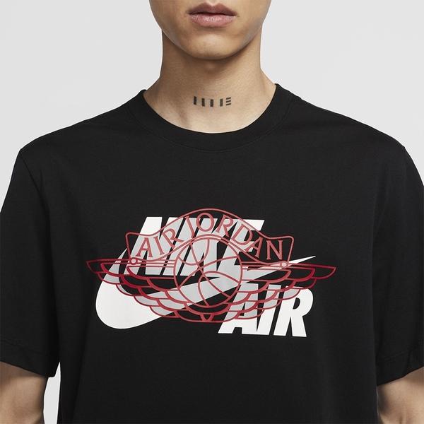 【現貨】NIKE Jordan Air Wings 男裝 短袖 喬丹 純棉 黑/白/綠【運動世界】CU1980-010 / CU1980-100 / CU1980-330