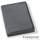 施德樓 PREMIUM系列 9PLE5F1-9 牛皮筆記本(黑)A5 / 本