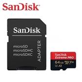[富廉網] 【SanDisk】Extreme PRO microSDXC 64G 170MB/s UHS-I 記憶卡