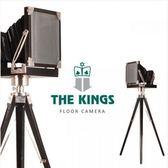 THE KINGS Camera鏡頭之後復古工業裝飾照相機
