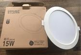 超值優惠價量大價格更便宜 億光 星河 15W LED 崁燈 杯燈 筒燈 漢堡燈 面板燈 電燈泡 白光 黃光