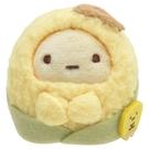 SAN-X 角落生物 玉米濃湯系列 迷你掌上型沙包絨毛玩偶 珍珠玉米 黃_XS77711