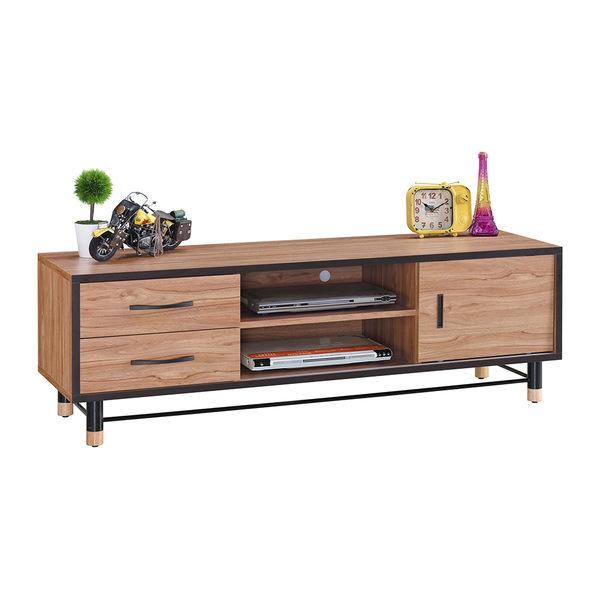 【森可家居】洛特5尺電視櫃 7JX189-3 長櫃 木紋質感 北歐工業風