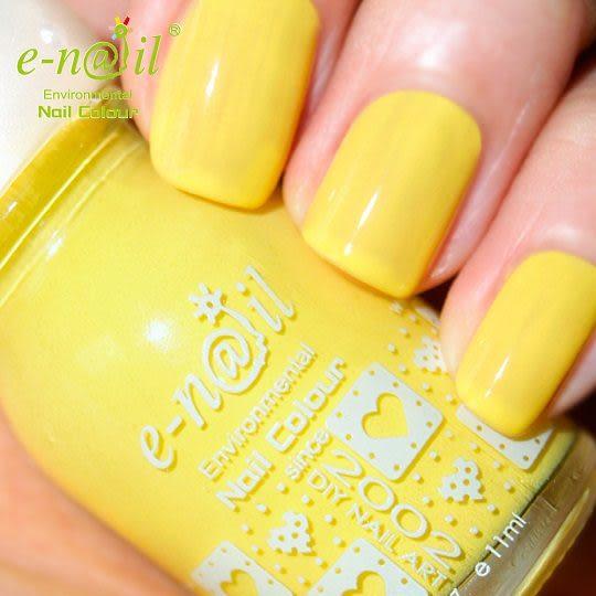 e-nail~【P258 / 香蕉船】 可剝式水指甲 / 環保健康水性指甲油/ 小朋友兒童指甲油 / 無毒指甲油