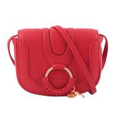 【SEE BY CHLOE】HANA BAG 迷你型山羊皮斜背包(紅色) CHS17AS901305 665