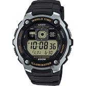 CASIO 卡西歐 10年電力飛行員手錶 AE-2000W-9AVDF / AE-2000W-9A
