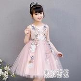 女童演出服公主裙蓬蓬裙小女孩洋氣禮服裙模特走秀主持人高端鋼琴 LJ7554『東京潮流』