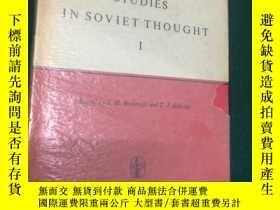 二手書博民逛書店Studies罕見in Soviet Thought【蘇聯思想研