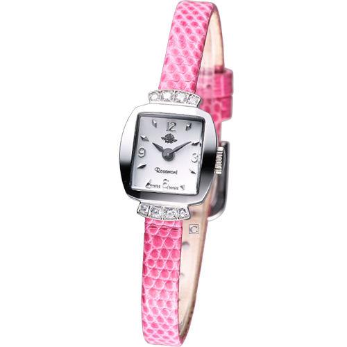 rosemont 骨董風玫瑰系列 優雅時尚錶TRS016-03PK粉色