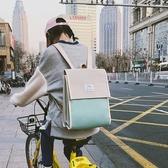 書包女韓版原宿ulzzang高中學生雙肩包新款百搭簡約街拍背包 居享優品