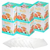 妙妙熊護理巾 (80抽/6盒) 醫療級 乾濕兩用紗布毛巾 兩用巾 拭口巾 柔仕巾 清淨棉 10037