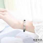 水晶手鏈女鷹眼石閨蜜錦鯉大王銀【毒家貨源】