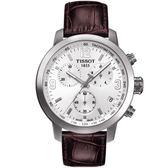 TISSOT PRC 200 競速時尚運動錶 T0554171601701 白面
