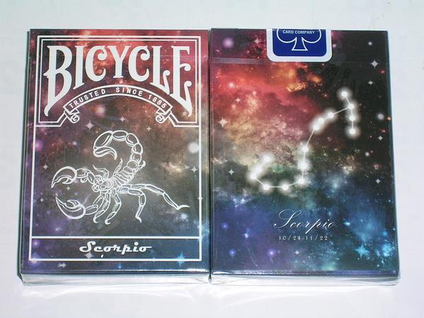 【USPCC撲克】Bicycle scorpio deck 天蠍座 星座 撲克牌