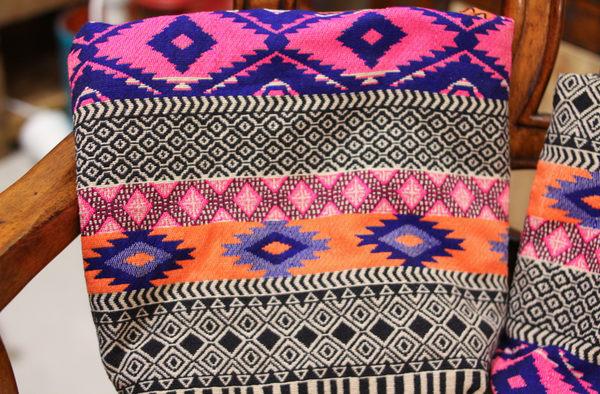 手織布斜背包(小)