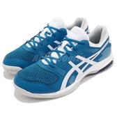 Asics 排羽球鞋 Gel-Rocket 8 藍 白 男鞋 排球 羽球 運動鞋 【PUMP306】 B706Y401