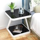 簡易床頭櫃簡約現代臥室組裝床頭桌收納櫃子迷你個性儲物櫃床邊櫃MBS「時尚彩虹屋」