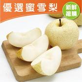 【鮮食優多】新社鮮甜蜜雪梨【中】8顆(10~12兩以上/粒)