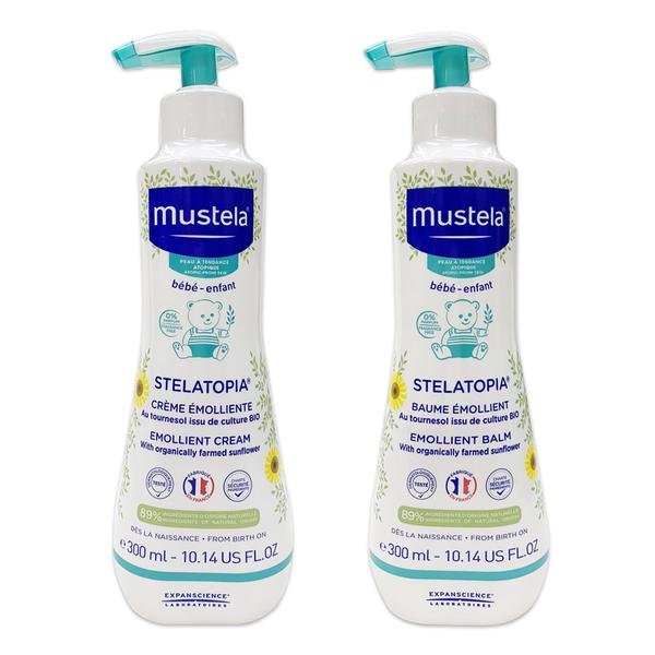Mustela - 柔舒霜 300ml/1瓶 (清爽型/滋養型)