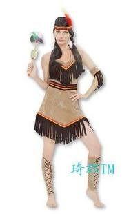 印第安人女服裝