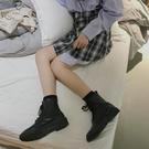 馬丁靴 早秋馬丁靴女英倫風短靴女春秋單靴瘦瘦靴2019新款百搭ins潮【全館免運】